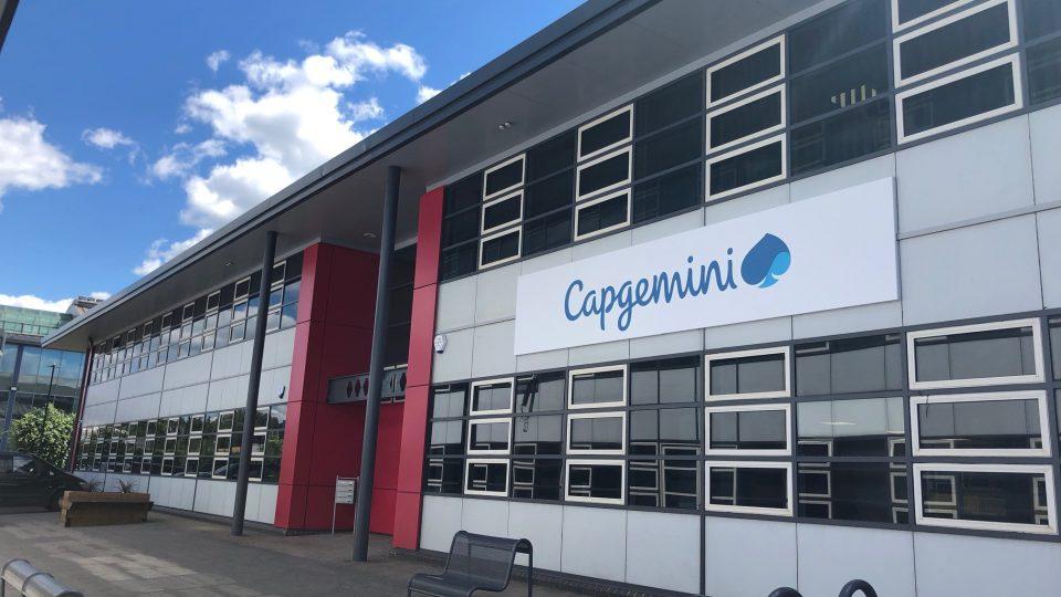 Capgemini signage 1 Jun 18