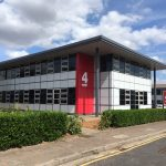 From 64,500 sqft LET to just 7,500 sq ft remaining available…business park success